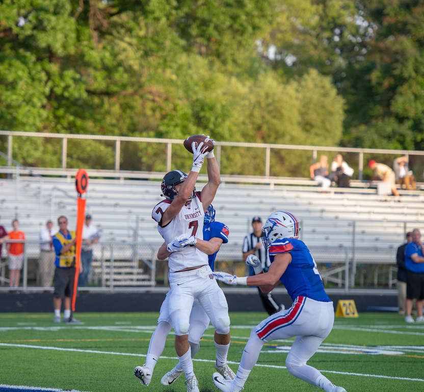 . Aimee Bielozer - The Morning Journal Action from University\'s game at Bay Aug. 31. Bay won, 31-14.