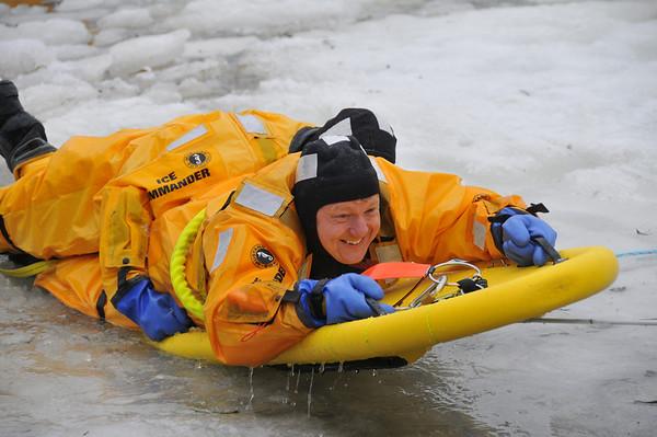 20100313- Ice Rescue Training