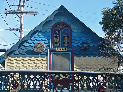 The Gingerbread Houses of Oak Bluffs -- September 2007