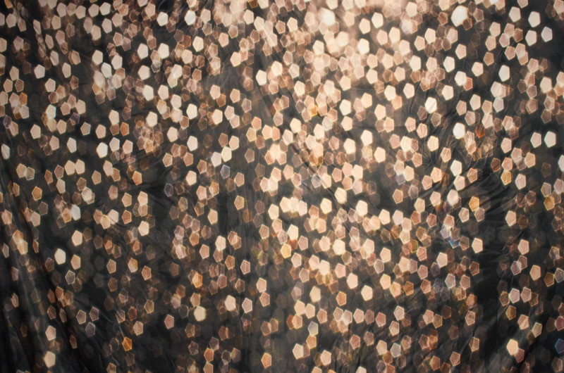 Black w/ Gold Glitter