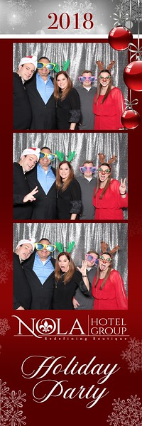 NOLA Hotel Group Holiday Party 2018 @ Tommy G's
