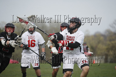 LAX Exeter West Greenwich at Rogers on 5/4/18