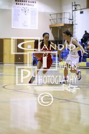 Varsity Girls Feb 17, 2009 vs Monroe