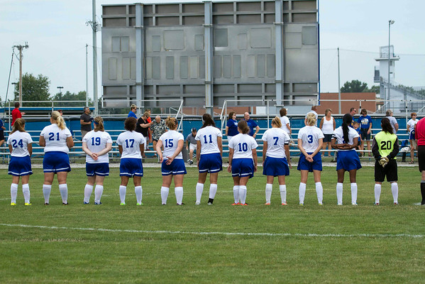 DHS Girls Soccer 08-30-2014