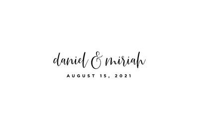 Daniel & Miriah (prints)