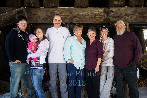 Jacobson-Monohan Family 2013 Portrait