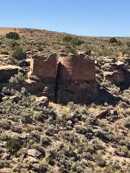 2017-09-18  Twin Towers, Hovenweep National Monument, Colorado