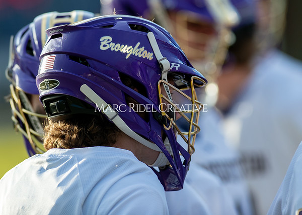 Broughton boys varsity lacrosse vs Enloe. March 10, 2020. D4S_7983