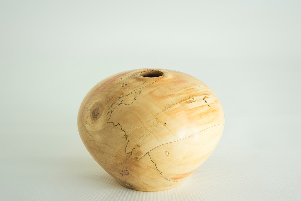 Spalted Box Elder Hollow Form
