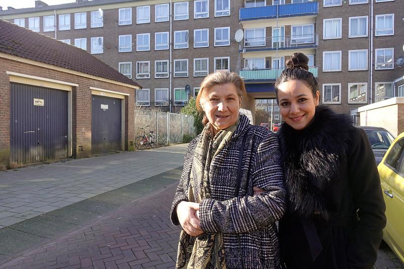 Nederland, Amsterdam, Dobbebuurt, Amsterdam Nieuw West, 7 februari 2018,  foto: Katrien Mulder