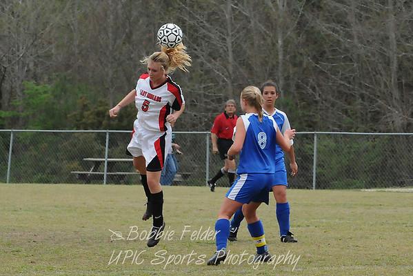 OP Soccer vs Edisto-Girls Match 2009