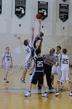 2009 02 10 Freshman Basketball Game vs. Troy