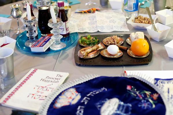 Lillian Bernstein's 100th Passover Seder-040315