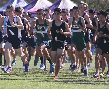 Jim McClain's Foothill League XC Finals 2016