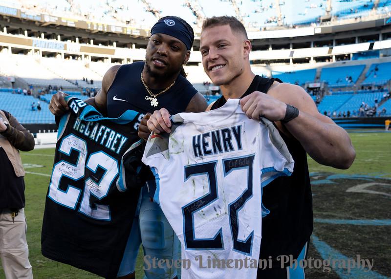 Christian McCaffrey, Derrick Henry