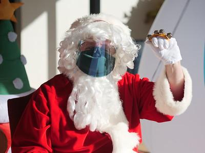 Surprise Santa Visit