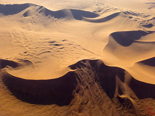 Flying over Sossusvlei sand dunes, Namibia photo 4