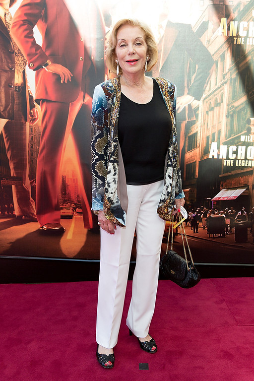 ". Ita Buttrose arrives at the ""Anchorman 2: The Legend Continues\"" Australian premiere on November 24, 2013 in Sydney, Australia.  (Photo by Caroline McCredie/Getty Images for Paramount Pictures International)"