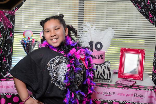 Jasmine's Sweet & Sassy Birthday Party 042515