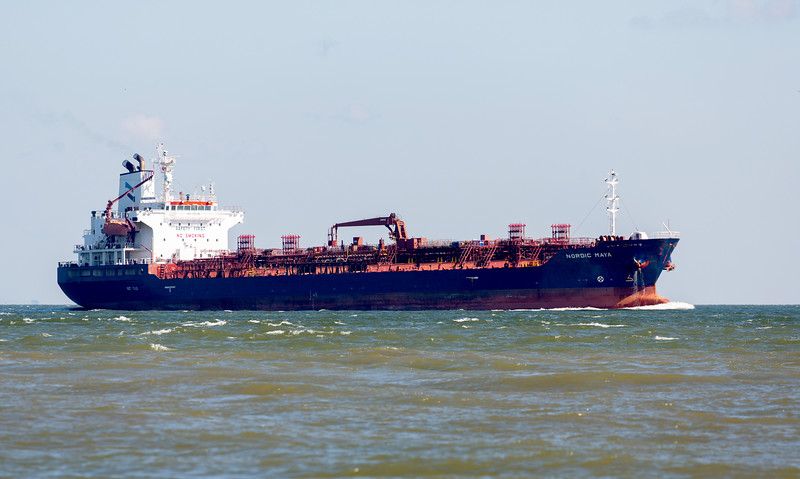 The 19,728-dead-weight-ton chemical tanker, Nordic Maya