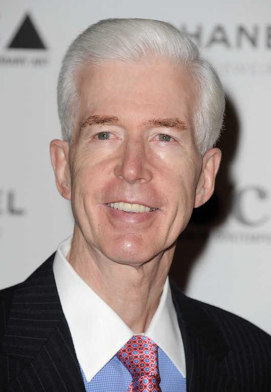 . LOS ANGELES, CA - NOVEMBER 13:  Politician Gray Davis arrives at MOCA Presents: Envisioned By Artist Doug Aitken at MOCA Grand Avenue on November 13, 2010 in Los Angeles, California.  (Photo by Jordan Strauss/Invision/AP Images)