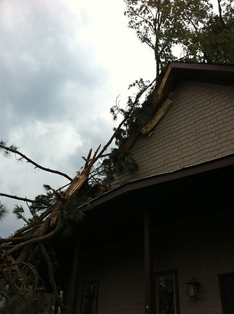 Langston Storm Damage