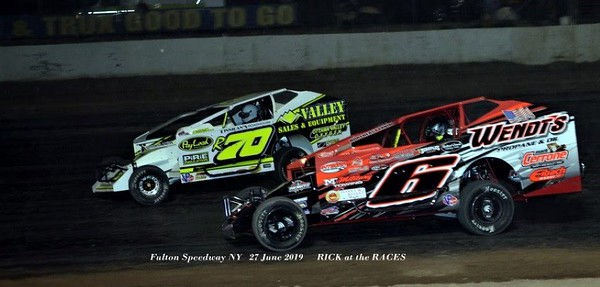 Fulton Speedway - 358-Modified Super DIRTcar Series - 6/27/19 - Rick Young