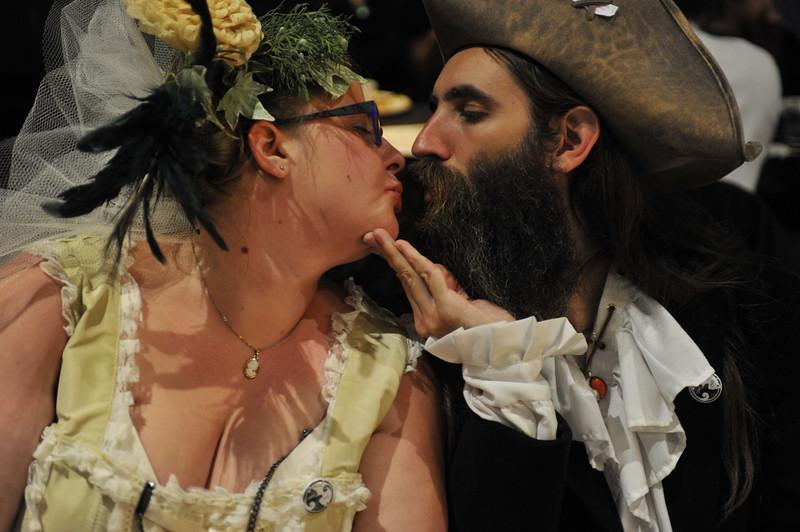 A piratey kiss