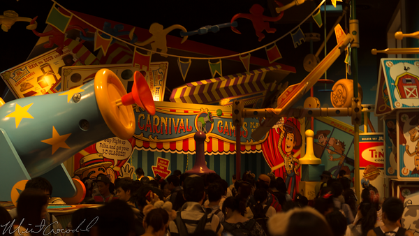 Disneyland Resort, Tokyo Disneyland, Tokyo Disney Sea, Tokyo Disney Resort, Tokyo DisneySea, Tokyo, Disney, Toyville Trolley Park, Toy Story, Toy Story Midway Mania, Toy Story Mania