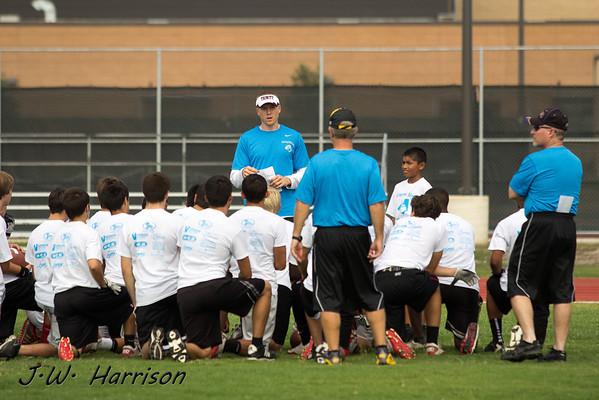 2012 - Jerheme Urban Football Camp
