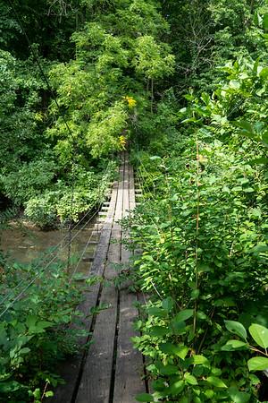 Swing Bridge in Ida Grove