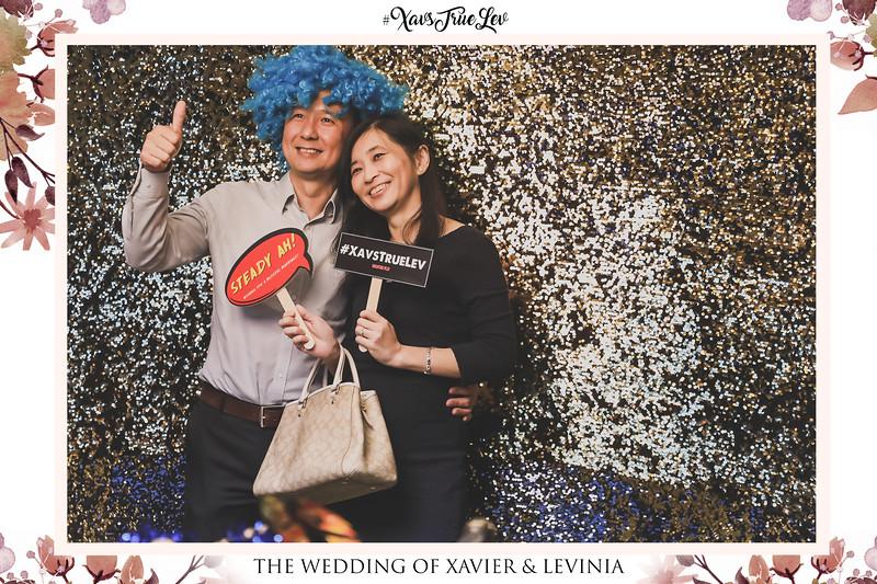 Wedding of Xavier & Levinia | © www.SRSLYPhotobooth.sg
