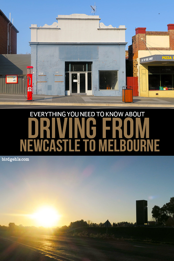 How to get from Newcastle to Melbourne in Australia. Information on the fastest route vs the scenic route. You'll find out how long it takes to get from Newcastle to Melbourne, where to stay, when the best time to drive is and what you'll see along the way.