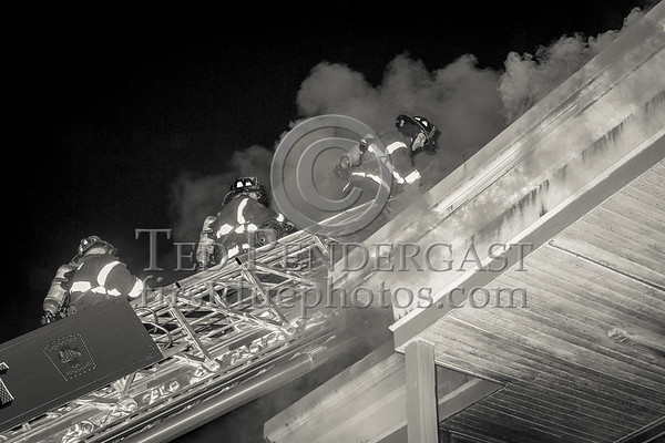 Belmont MA - 3 Alarms on Grove St