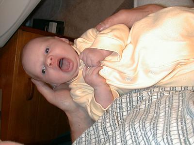 Emma 3 weeks old