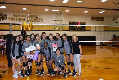 2019 Volleyball vs Baytown Lee - Senior Night