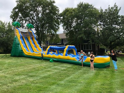 20190901 End of Summer Waterslide Party