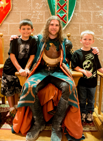 Medieval Times With Mattie And Connor (Green Knight)