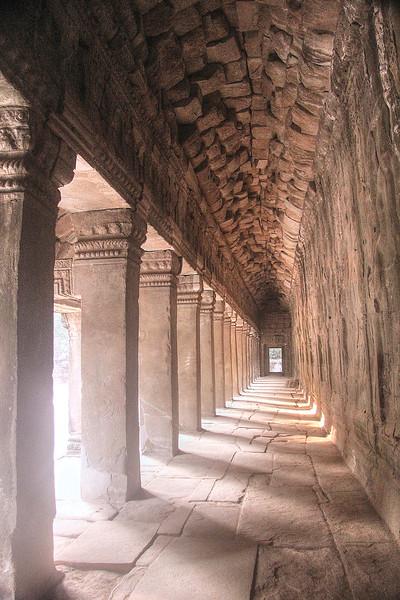 A corridor of Ta Prohm - Angkor Archaeological Park