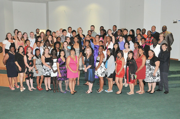 Upward Bound Math Scence Awards Banquet July 18, 2012