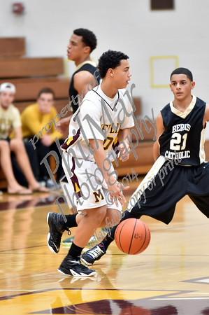 Governor Mifflin vs Berks Catholic Boys High School Basketball 2014 - 2015