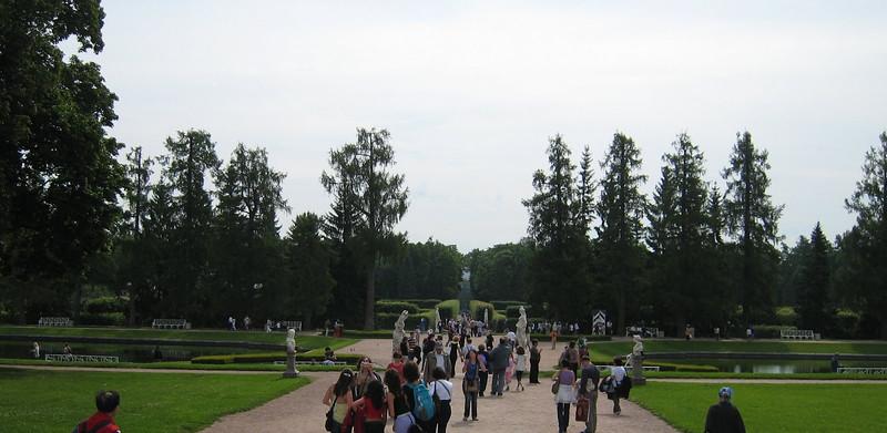Catherine's Palace at Pushkin (port of St. Petersburg) - Gardens