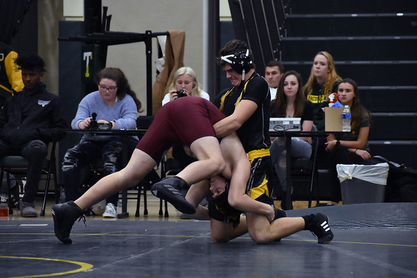 Taconic wrestling hosts Monument Mountain - 010920