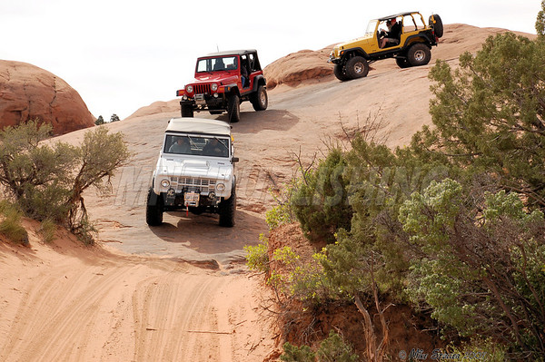 Hells Revenge Trail, Moab Utah April 15 2007