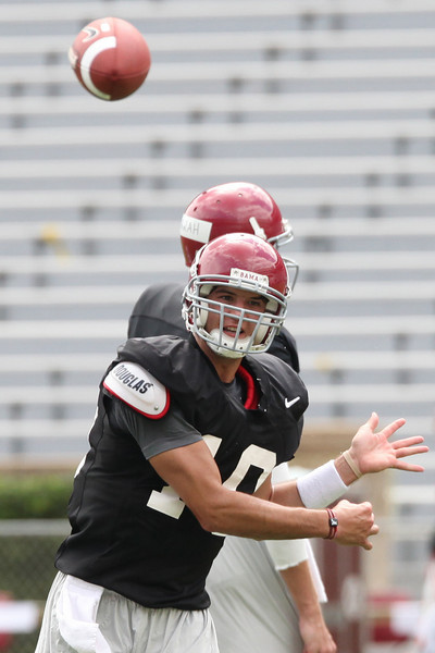 Alabama Fan Day Practice 8-9-2009