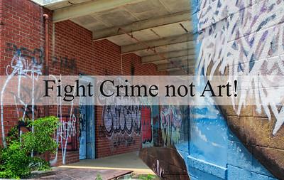 Fight Crime Not Art!