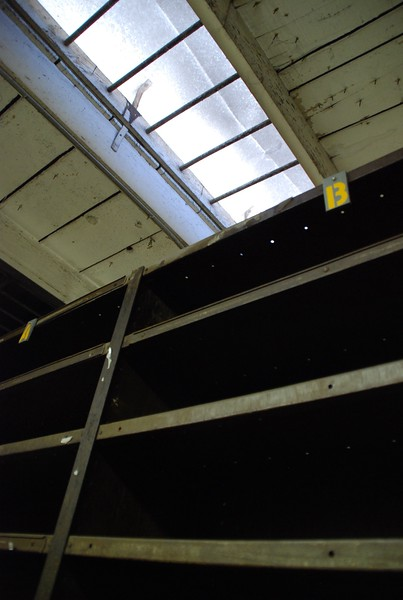 2010, Shelves and Roof