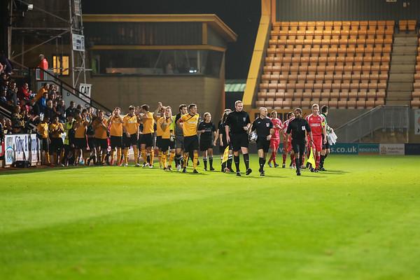 Cambridge United 3 - 0 Nuneaton Town Sept 2013
