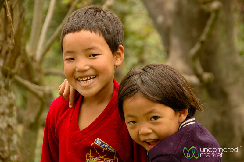 Smiling and Goofing Around - Pelling, Sikkim