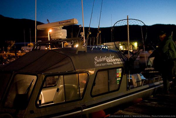 060926 Tillamook Bay Chinook Salmon Fishing with Sidewinder Charters